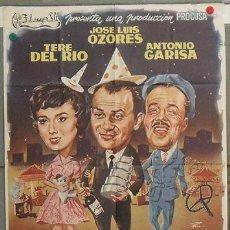 Cine: KZ05 EL GAFE JOSE LUIS OZORES ANTONIO GARISA PEDRO L. RAMIREZ RUMBO POSTER ORIGINAL 70X100 ESTRENO. Lote 17162358