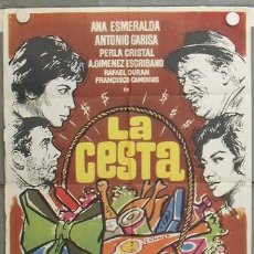 Cine: KZ30 LA CESTA ANA ESMERALDA ANTONIO GARISA LINA MORGAN MAC POSTER ORIGINAL 70X100 ESTRENO. Lote 17175911