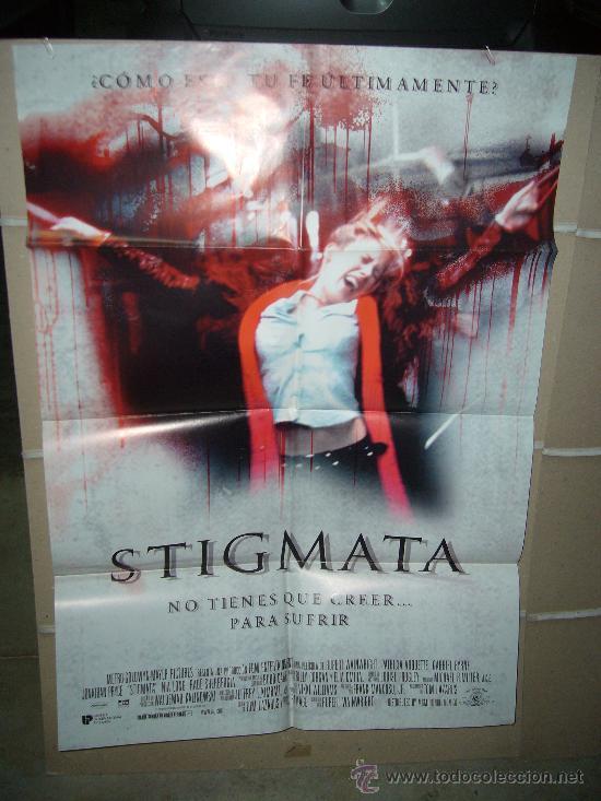 STIGMATA POSTER ORIGINAL 70X100 (Cine - Posters y Carteles - Terror)