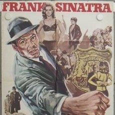 Cine: LA11 EL DETECTIVE FRANK SINATRA POSTER ORIGINAL 70X100 ESTRENO. Lote 17202441