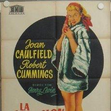 Cine: LA74 LA SENSACION DE BROADWAY JOAN CAULFIELD POSTER ORIGINAL 70X100 ESTRENO LITOGRAFIA. Lote 17217430