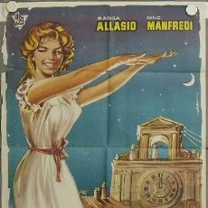 Cine: LA88 FANTASMAS A MEDIANOCHE MARISA ALLASIO POSTER ORIGINAL 70X100 ESTRENO. Lote 17219064