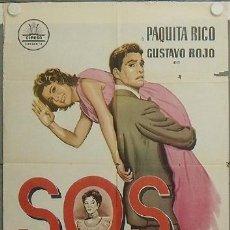Cine: LA93 SOS ABUELITA PAQUITA RICO GUSTAVO ROJO CIFESA POSTER ORIGINAL ESTRENO 70X100. Lote 17219588