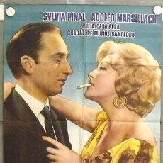 Cine: LC31 MARIBEL Y LA EXTRAÑA FAMILIA ADOLFO MARSILLACH SILVIA PINAL POSTER ORIGINAL 70X100 ESTRENO. Lote 17234604