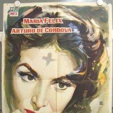 Cine: WQ22D MIERCOLES DE CENIZA MARIA FELIX POSTER ORIGINAL ESTRENO 70X100. Lote 17325572