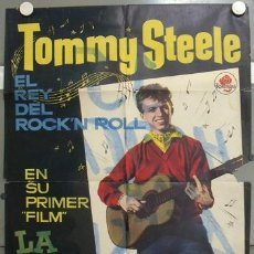 Cine: LD71 LA HISTORIA DE TOMMY STEELE TOMMY STEELE MAC POSTER ORIGINAL 70X100 ESTRENO. Lote 17325957
