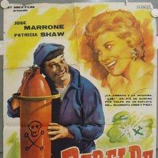 Cine: LE18 REBELDE CON CAUSA JOSE MARRONE POSTER ORIGINAL 70X100 ESTRENO. Lote 17340434