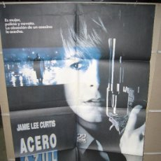 Cinema: ACERO AZUL JAMIE LEE CURTIS POSTER ORIGINAL 70X100. Lote 17347445