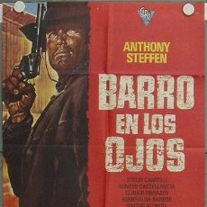 Cine: LE96 BARRO EN LOS OJOS ANTHONY STEFFEN SPAGHETTI POSTER ORIGINAL 70X100 ESTRENO. Lote 17363203