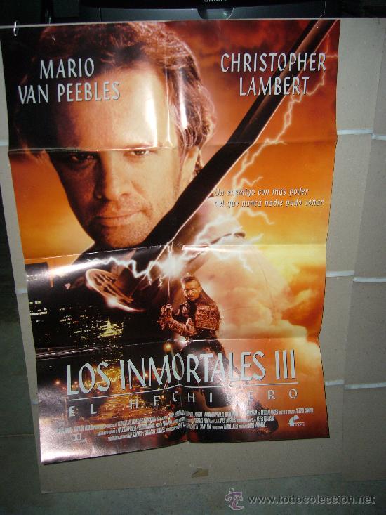 LOS INMORTALES III POSTER ORIGINAL 70X100 (Cine - Posters y Carteles - Ciencia Ficción)