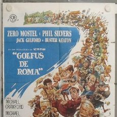 Cine: LM31 GOLFUS DE ROMA ZERO MOSTEL MICHAEL CRAWFORD POSTER ORIGINAL 70X100 ESTRENO. Lote 28697903