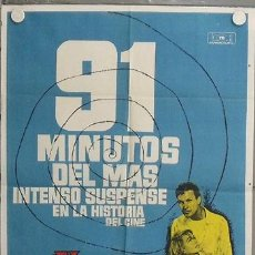 Cine: LM22 EL ULTIMO VIAJE PETER ROBERT STACK DOROTHY MALONE MAC POSTER ORIGINAL 70X100 ESTRENO. Lote 17647196