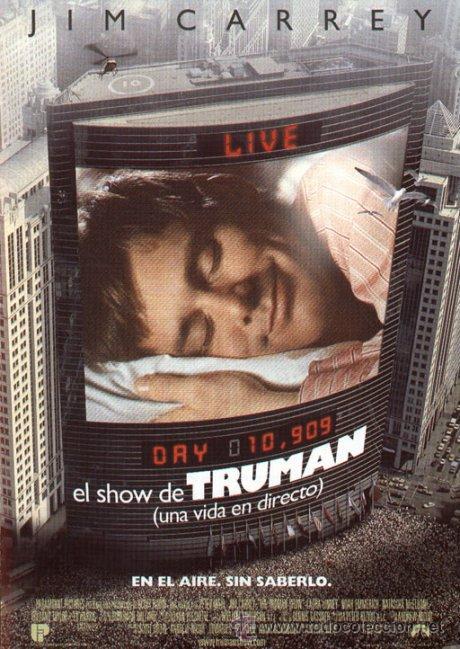 'EL SHOW DE TRUMAN', CON JIM CARREY. (Cine - Posters y Carteles - Comedia)