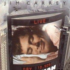 Cine: 'EL SHOW DE TRUMAN', CON JIM CARREY.. Lote 51233614