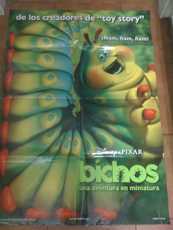 'BICHOS', DE DISNEY-PIXAR. TEASER PÓSTER. (Cine - Posters y Carteles - Infantil)