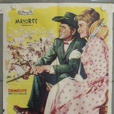 Cine: LP88 CIMARRON GLENN FORD ANTHONY MANN MARIA SCHELL POSTER ORIGINAL 70X100 ESTRENO. Lote 17779428