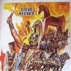Cine: CARTEL DE CINE 1983. - LA GUERRA DE TROYA - ARTISTA: -MAC- ENVIO GRATIS¡¡¡. Lote 25210228