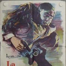 Cine: LQ10 LA POSADA DEL TAMESIS EDGAR WALLACE SUBMARINISMO MAC POSTER ORIGINAL 70X100 ESTRENO. Lote 17781434
