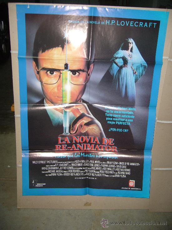 LA NOVIA DE RE-ANIMATOR POSTER ORIGINAL 70X100 Q (Cine - Posters y Carteles - Terror)