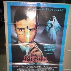 Cine: LA NOVIA DE RE-ANIMATOR POSTER ORIGINAL 70X100 Q. Lote 135752609