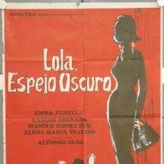 Cine: LU54 LOLA ESPEJO OSCURO EMMA PENELLA POSTER ORIGINAL 70X100 ESTRENO. Lote 17930049