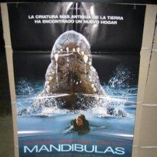 Cine: MANDIBULAS BRIDGET FONDA POSTER ORIGINAL 70X100 Q. Lote 167593570