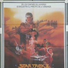 Cine: QT04 STAR TREK 2 LA IRA DE KHAN BOB PEAK POSTER ORIGINAL 70X100 ESTRENO. Lote 236807230