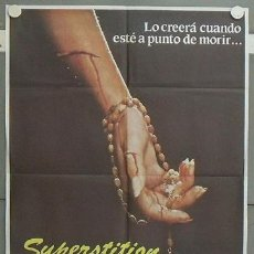 Cine: LV01 SUPERSTITION TERROR CANADIENSE POSTER ORIGINAL 70X100 ESTRENO. Lote 17934206