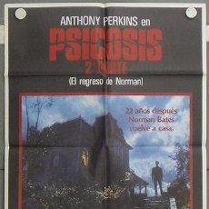 Cine: LV39 PSICOSIS 2 ANTHONY PERKINS POSTER ORIGINAL 70X100 ESTRENO. Lote 17997490