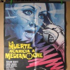 Cine: LA MUERTE ACARICIA A MEDIANOCHE. Lote 221823651