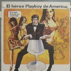 Cine: LV78 FLINT AGENTE SECRETO JAMES COBURN POSTER ORIGINAL 70X100 ESPAÑOL. Lote 18000013