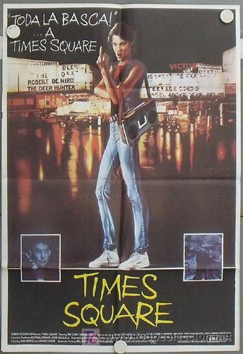 LV74 TIMES SQUARE TRINI ALVARADO TIM CURRY POSTER ORIGINAL 70X100 ESTRENO (Cine - Posters y Carteles - Musicales)
