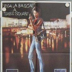 Cine: LV74 TIMES SQUARE TRINI ALVARADO TIM CURRY POSTER ORIGINAL 70X100 ESTRENO. Lote 18001636