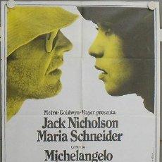 Cine: LW30 EL REPORTERO ANTONIONI JACK NICHOLSON MAC POSTER ORIGINAL 70X100 ESTRENO. Lote 18016110
