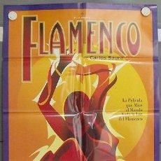 Cine: LW11 FLAMENCO CARLOS SAURA JOAQUIN CORTES LOLA FLORES POSTER ORIGINAL 70X100 ESTRENO. Lote 40759806