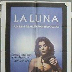 Cine: LW28 LA LUNA BERNARDO BERTOLUCCI POSTER ORIGINAL 70X100 ESTRENO. Lote 268596309