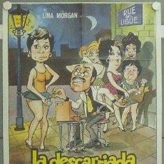 Cine: LW99 LA DESCARRIADA LINA MORGAN POSTER ORIGINAL 70X100 ESTRENO. Lote 18022248