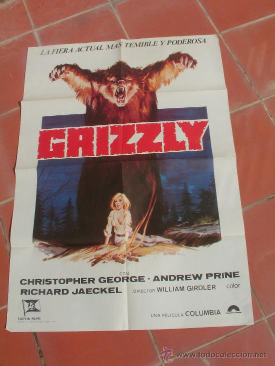 GRIZZLY (Cine - Posters y Carteles)