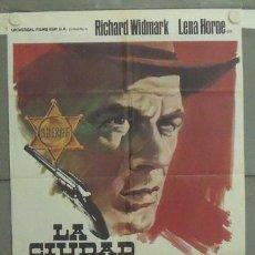 Cinéma: LY73 LA CIUDAD SIN LEY RICHARD WIDMARK LENA HORNE POSTER ORIGINAL 70X100 ESTRENO. Lote 18073850