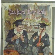 Cine: LY72 ESTUDIANTES EN OXFORD STAN LAUREL OLIVER HARDY POSTER ORIGINAL 70X100 ESPAÑOL. Lote 18073929