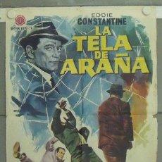 Cine: LZ38 LA TELA DE ARAÑA EDDIE CONSTANTINE JANO POSTER ORIGINAL 70X100 ESTRENO. Lote 18070857