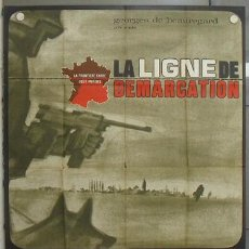 Cine: LZ94 LA LIGNE DE DEMARCATION JEAN SEBERG CLAUDE CHABROL RONET POSTER ORIGINAL FRANCES 120X160. Lote 18132863