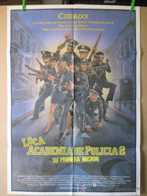 LOCA ACADEMIA DE POLICIA 2 (Cine - Posters y Carteles - Comedia)