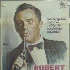 Cine: MB23 MR SOLO ROBERT VAUGHN AGENTE DE CIPOL RARO POSTER ORIGINAL 70X100 ESTRENO. Lote 18191355