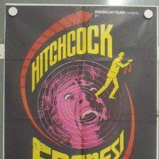 Cine: MB86 FRENESI ALFRED HITCHCOCK MAC POSTER ORIGINAL 70X100 ESTRENO. Lote 18208219