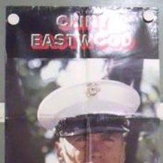 Cine: MB95 EL SARGENTO DE HIERRO CLINT EASTWOOD POSTER ORIGINAL 50X150 ESTRENO. Lote 18208316
