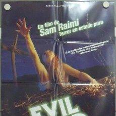 Cine: MB56 POSESION INFERNAL EVIL DEAD SAM RAIMI POSTER ORIGINAL 70X100 ESPAÑOL. Lote 18209811