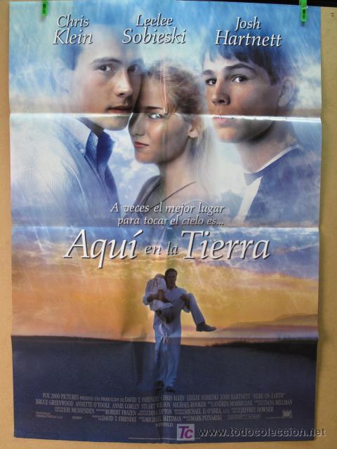 AQUI EN LA TIERRA (Cine - Posters y Carteles - Aventura)