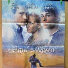 Cine: AQUI EN LA TIERRA. Lote 195355881