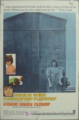 ZC15D LA REBELDE NATALIE WOOD ROBERT REDFORD POSTER ORIGINAL AMERICANO 70X105 (Cine - Posters y Carteles - Aventura)